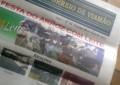 Jornal Correio de Viamão em circulação na cidade