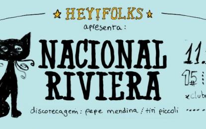 Nacional Riveira faz primeiro show no Clube Silência em Porto Alerge-RS