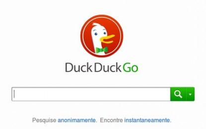 Sistema de busca livre e anônimo: Duck Duck Go