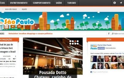 São Paulo com novo website