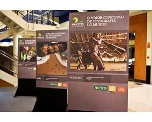 Exposição interativa reúne as melhores fotos do concurso Metro Photo Challenge 2013