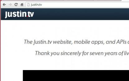 Fim do JustinTV