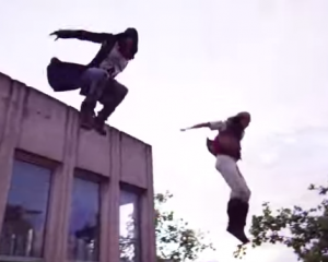Assassin's Creed em Parkour no mundo real