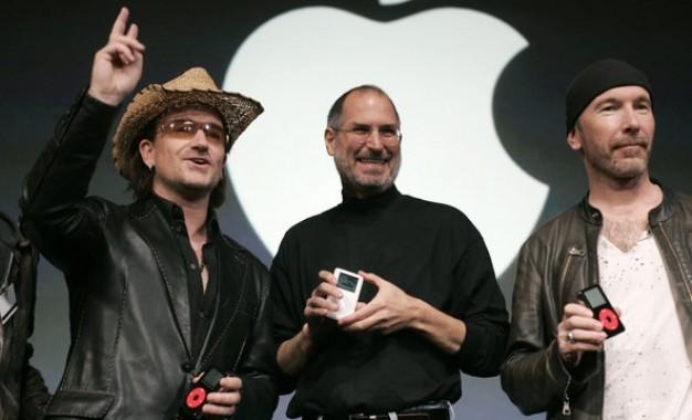 U2 e Apple gerando novo formato de arquivo de música