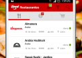 App de Tele Entrega com opções e filtros inteligentes