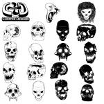 free-skulls-vector-pack-150x150