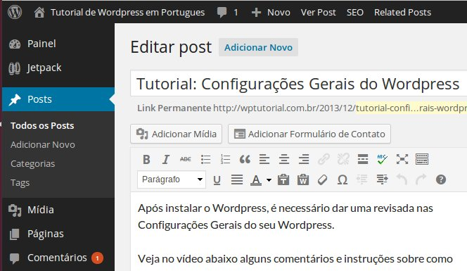 wordpress-internalscreen