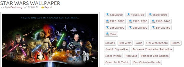 Star Wars wallpaper - Movie wallpapers - #34018